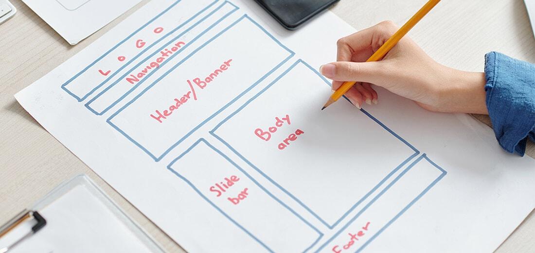 Planung einer Website